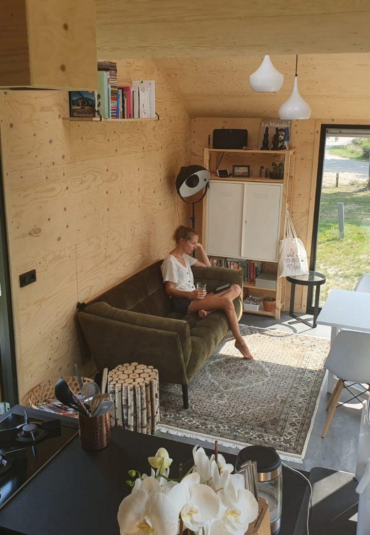 Wonen in een Tiny House: 'Ik leef nu eenvoudiger, vrijer en duurzamer'